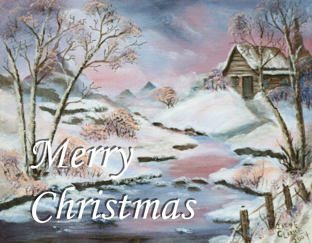 Merry Christmas 1 by Irene Clarke