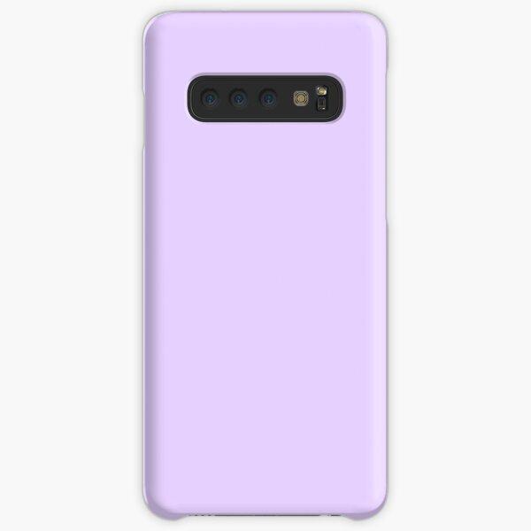 Pale Lilac Solid Color Samsung Galaxy Snap Case