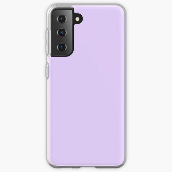 Pale Lilac Solid Color Samsung Galaxy Soft Case