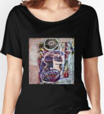 Basquait Style Figure Women's Relaxed Fit T-Shirt