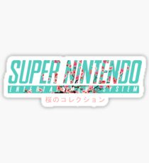 SNES Sticker