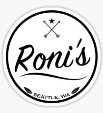 Roni's Bar Sticker
