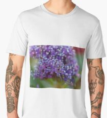 hydrangea in the garden Men's Premium T-Shirt