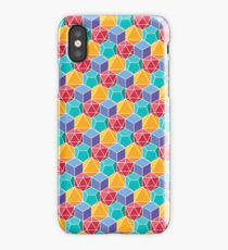 Dungeons and Dragons Dice Pattern Colorful iPhone Case/Skin
