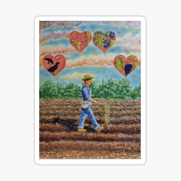 Sower And The Seed Sticker
