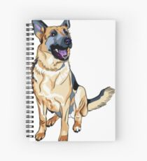 German Shepard! Spiral Notebook