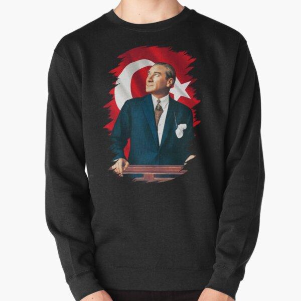 Mustafa Kemal Ataturk Pullover Sweatshirt