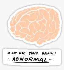 Abby Normal (Young Frankenstein) Sticker