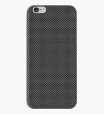 Simulated Black and Grey Carbon Fiber iPhone Case