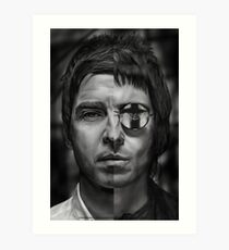 Don't look back - Liam and Noel Art Print