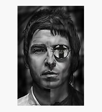 Don't look back - Liam and Noel Photographic Print