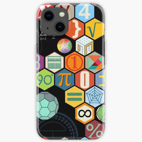 Math in black! iPhone Soft Case