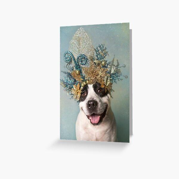 Flower Power, Dodger Greeting Card
