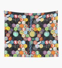 Math in black! Wall Tapestry
