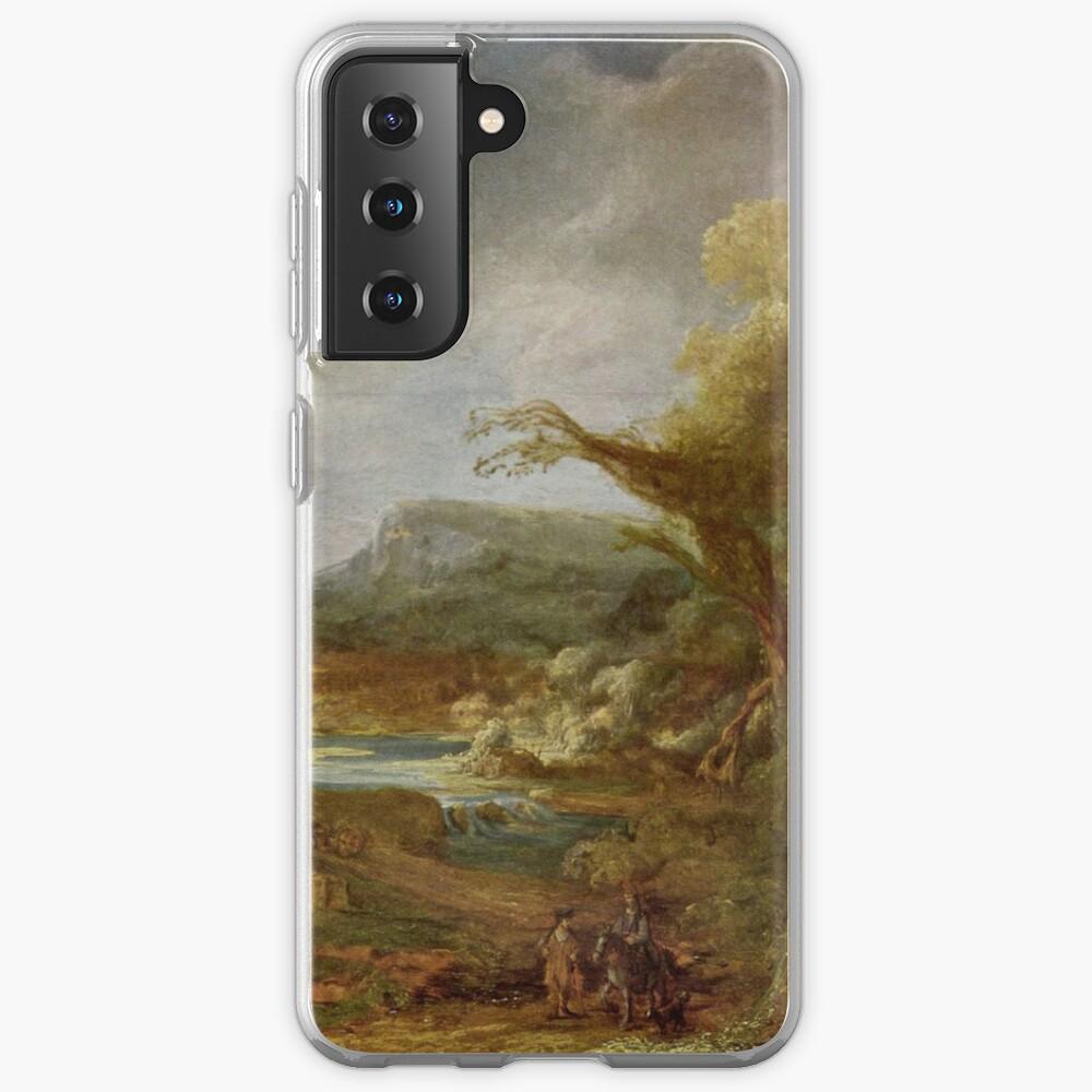 Stolen Art - Landscape with an Obelisk by Govert Flinck Case & Skin for Samsung Galaxy