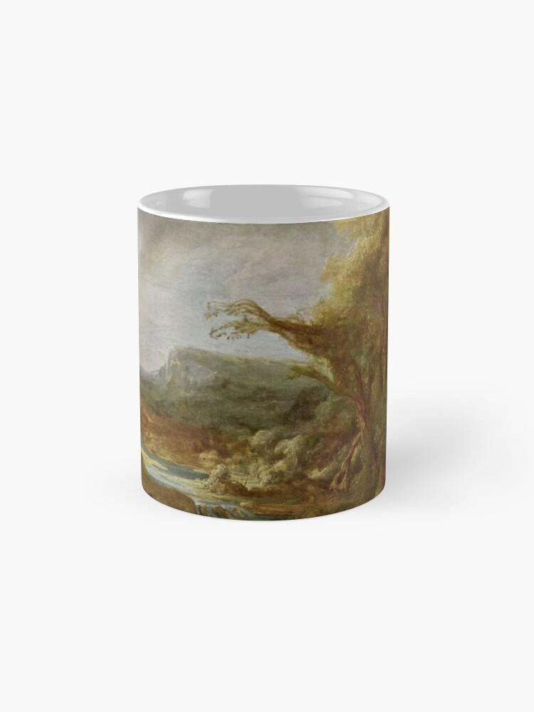 Alternate view of Stolen Art - Landscape with an Obelisk by Govert Flinck Mug