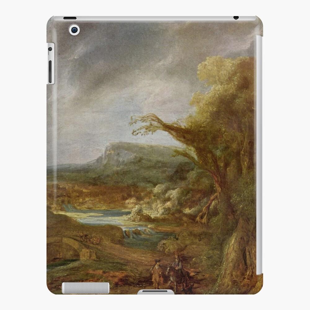 Stolen Art - Landscape with an Obelisk by Govert Flinck iPad Case & Skin