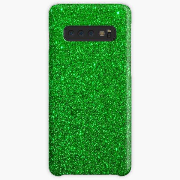 Emerald Green Shiny Metallic Glitter Samsung Galaxy Snap Case