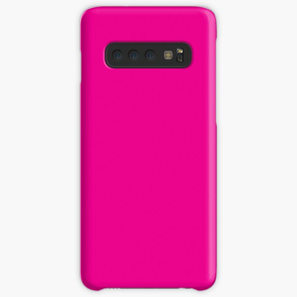 Fiji Fuchsia Purple Pink Magenta Tropical Romance Solid Color Samsung Galaxy Snap Case