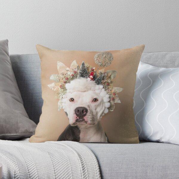 Flower Power, Gibson Throw Pillow