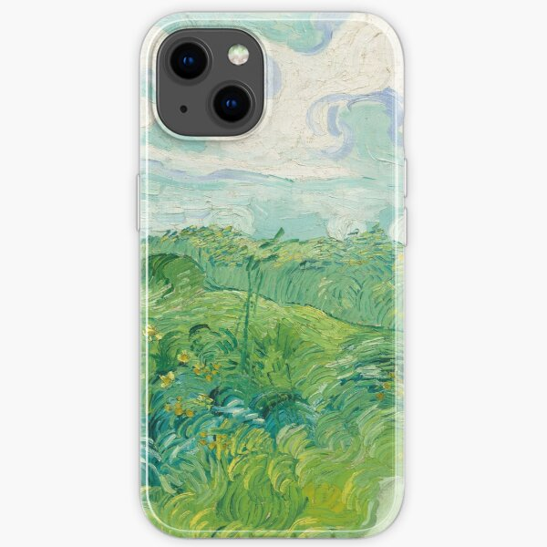 Vincent van Gogh Green Wheat Fields, Auvers 1890 Painting iPhone Soft Case