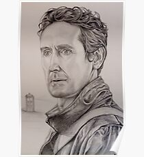 Paul McGann the eighth Doctor Poster