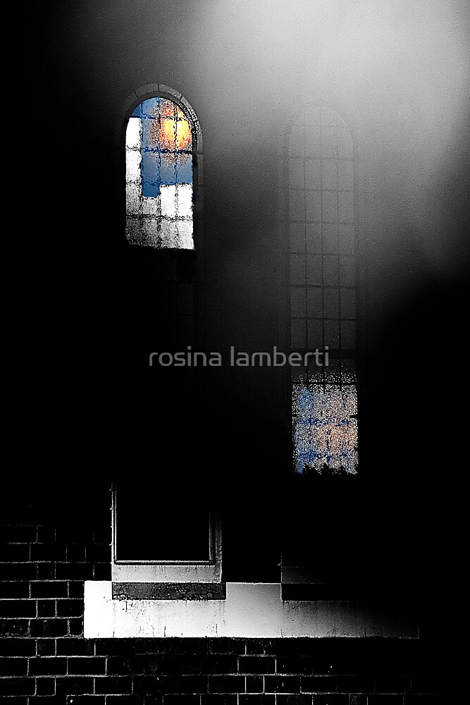 Lights On,nobody home by Rosina  Lamberti