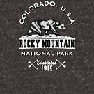 rocky mountain national park colorado bear nature explore hiking by MyHandmadeSigns
