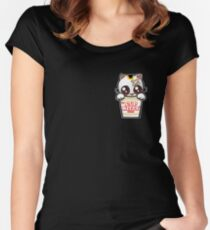 Cup Kitty Women's Fitted Scoop T-Shirt