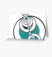 Rings Greeting Card
