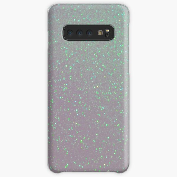 Iridescent Snow Aurora Borealis Northern Lights Snowy Glitter Samsung Galaxy Snap Case