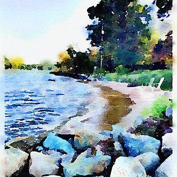 Chesapeake Bay by elizabethamira