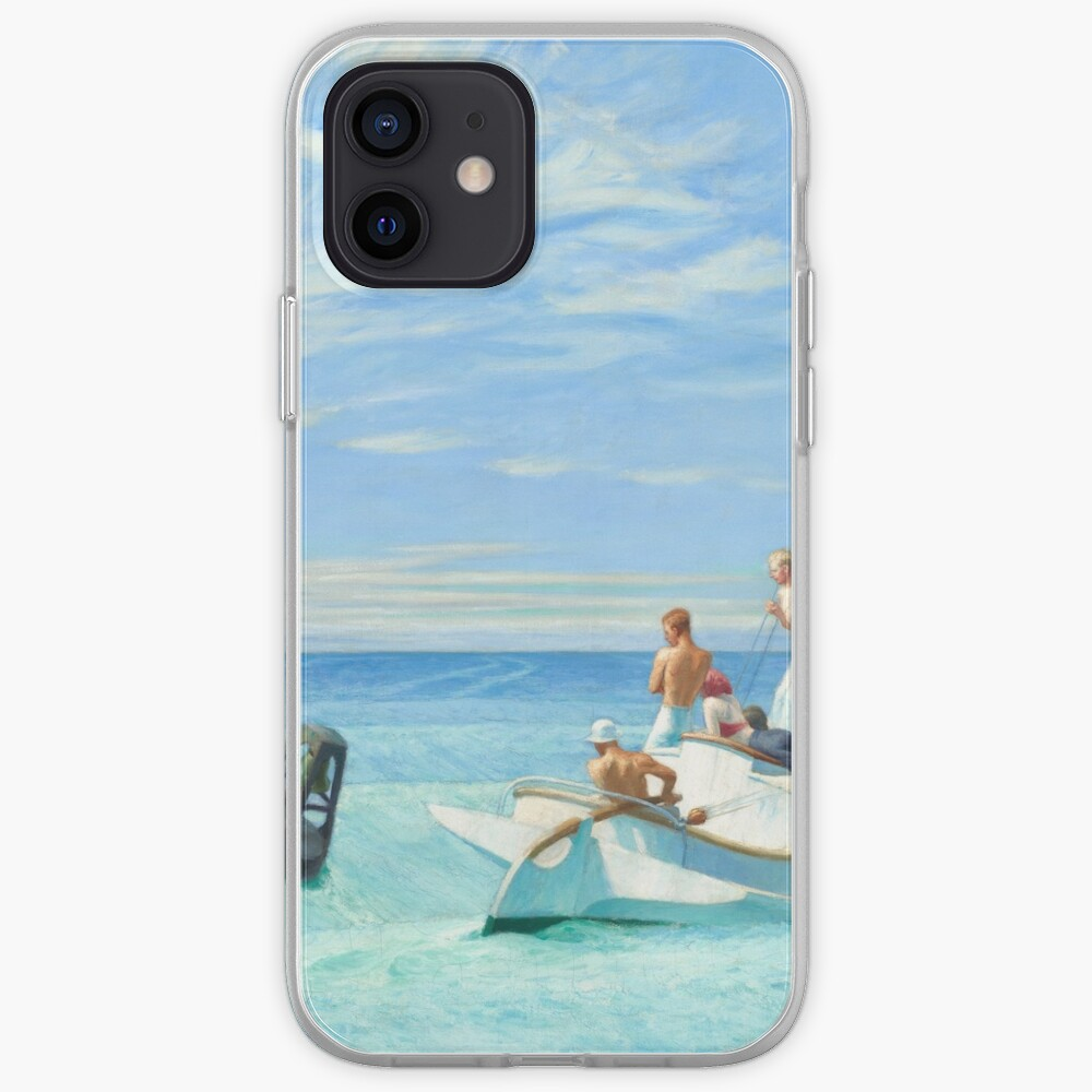 Ground Swell Oil Painting by Edward Hopper iPhone Case & Cover