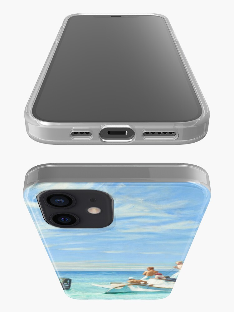 Alternate view of Ground Swell Oil Painting by Edward Hopper iPhone Case & Cover