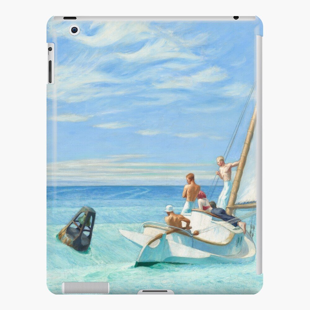 Ground Swell Oil Painting by Edward Hopper iPad Case & Skin