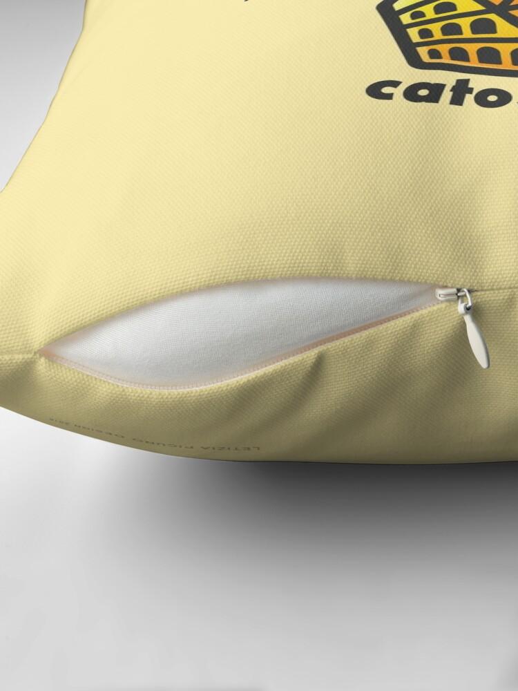 Alternate view of Catosseum Throw Pillow