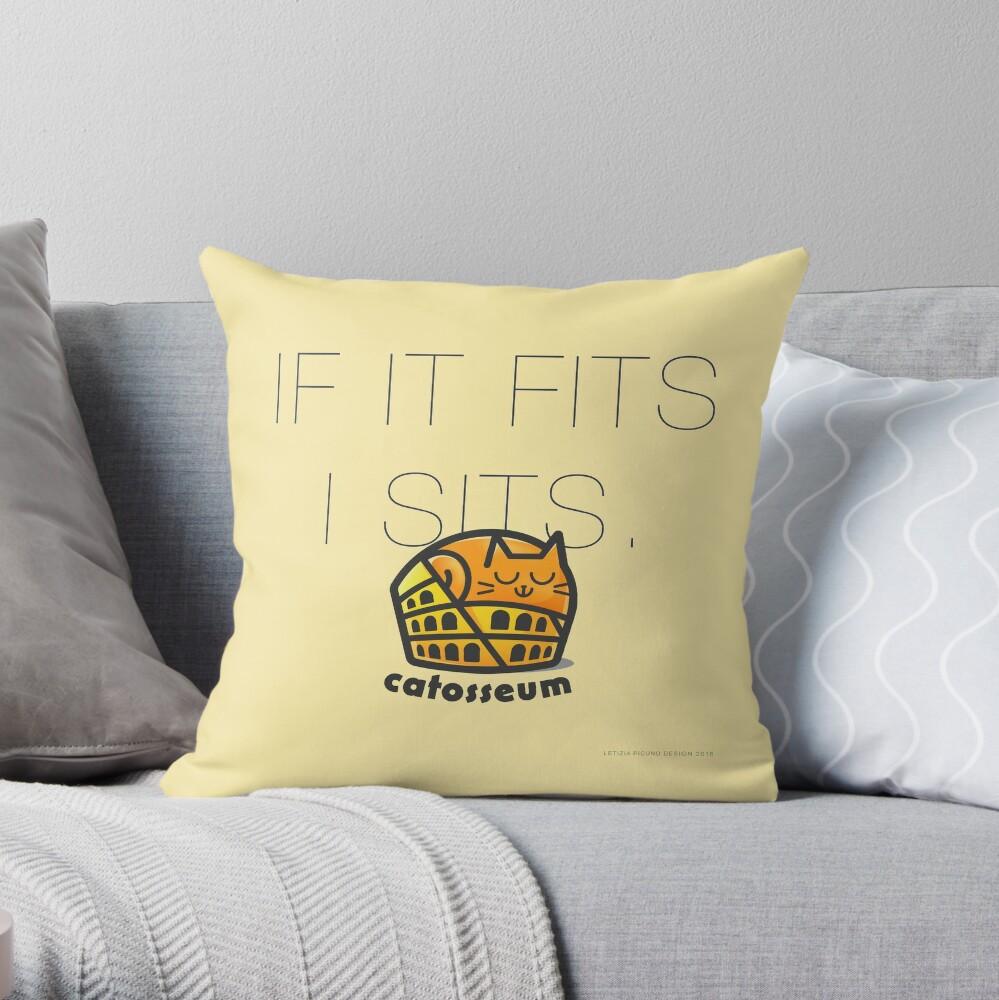 Catosseum Throw Pillow