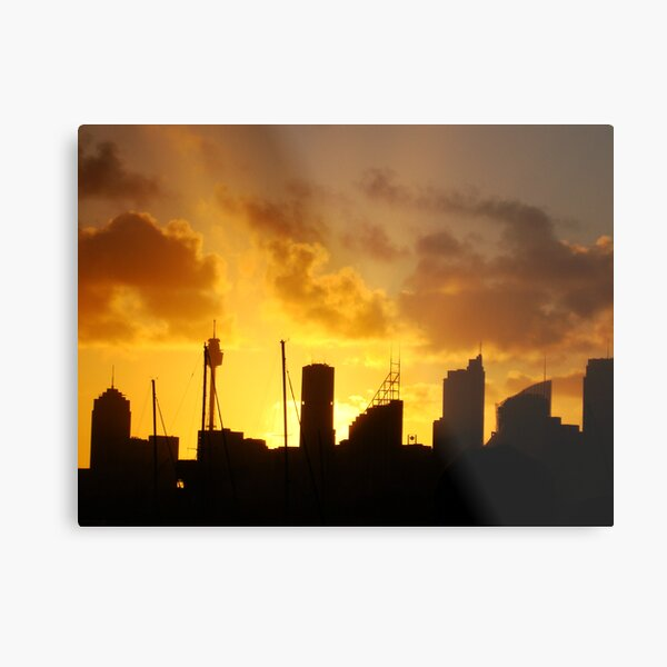Light & Darkness Metal Print