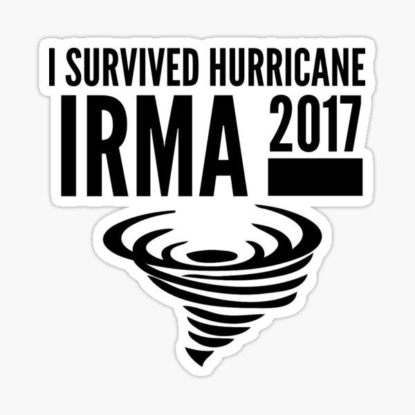Hurricane Irma Survivor Sticker