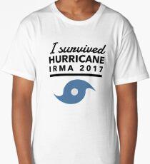 Hurricane Irma Survivor 2017 Long T-Shirt