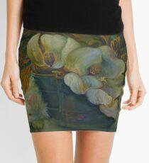 MAGNOLIAS, BLUE BUCKET, CAT NAP Mini Skirt