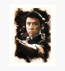 IP MAN - Dennie Yen Art Print