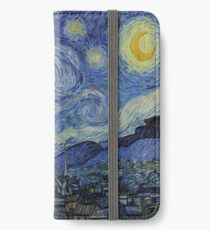 Starry Night by Vincent Van Gogh iPhone Wallet/Case/Skin