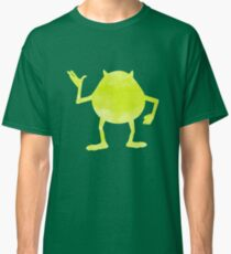 Green monster watercolor Classic T-Shirt