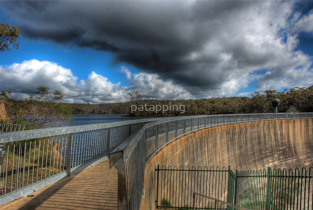 Storm Clouds over Barossa Resevour. S.A by patapping