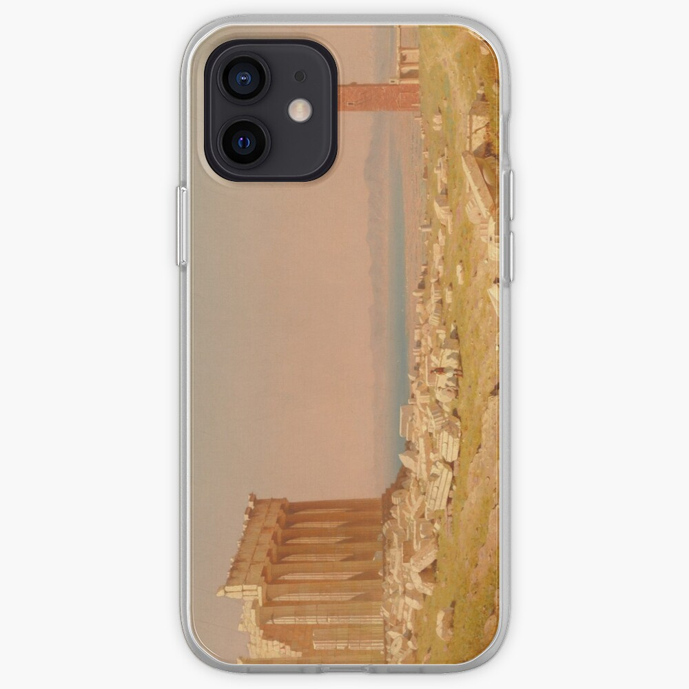 Ruins of the Parthenon Oil Painting by Sanford Robinson Gifford iPhone Case & Cover