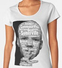 Bronski Beat Typeface in black and white Women's Premium T-Shirt