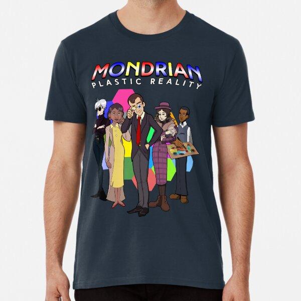 Mondrian - Plastic Reality Cast Premium T-Shirt