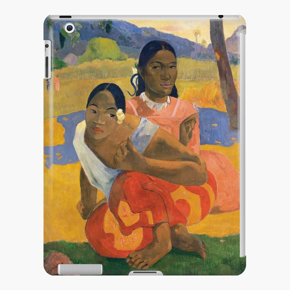 Affordable Art $300,000,000 When Will You Marry by Paul Gauguin iPad Case & Skin