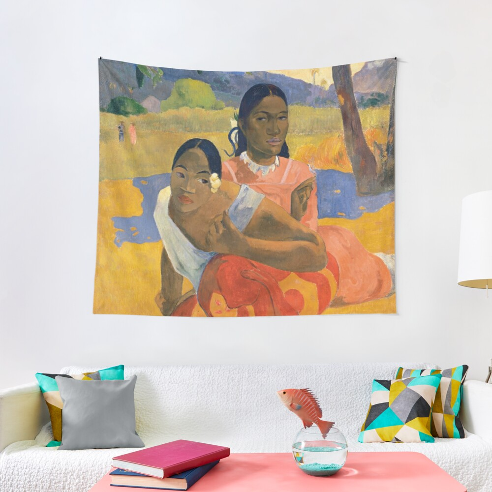 Affordable Art $300,000,000 When Will You Marry by Paul Gauguin Tapestry